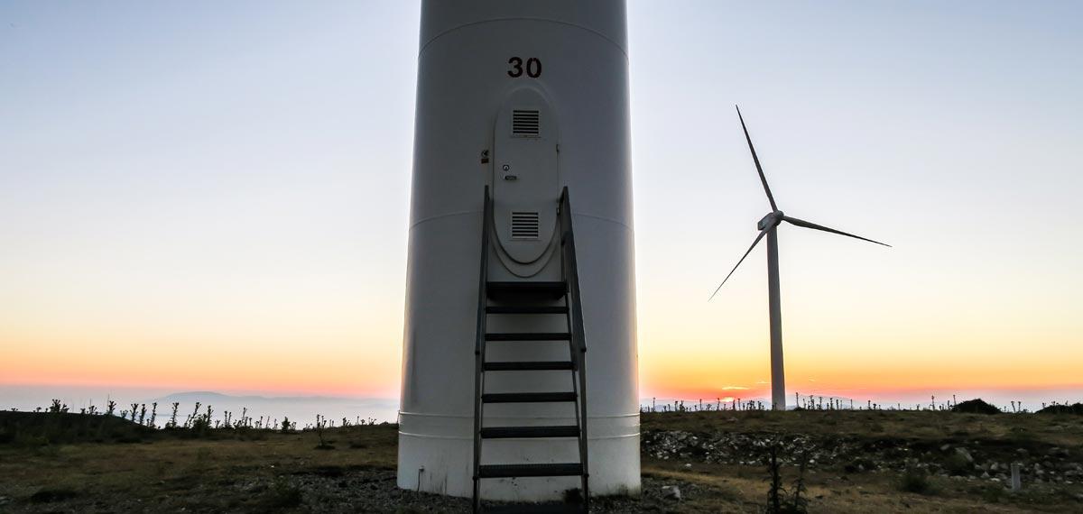Ersatzteile für Windkraftanlagen